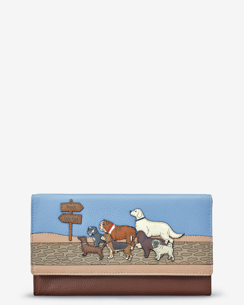 Dog Walk Flapover Purse