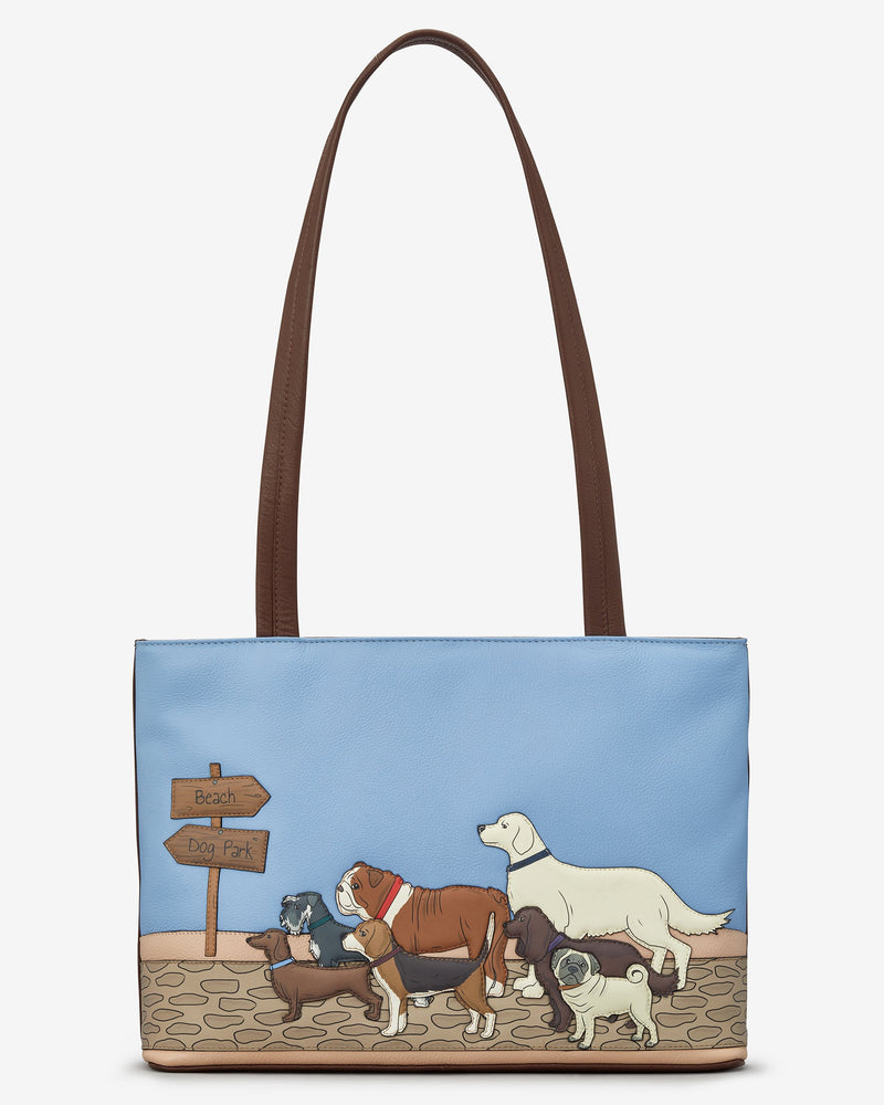 Dog Walk Shoulder Bag
