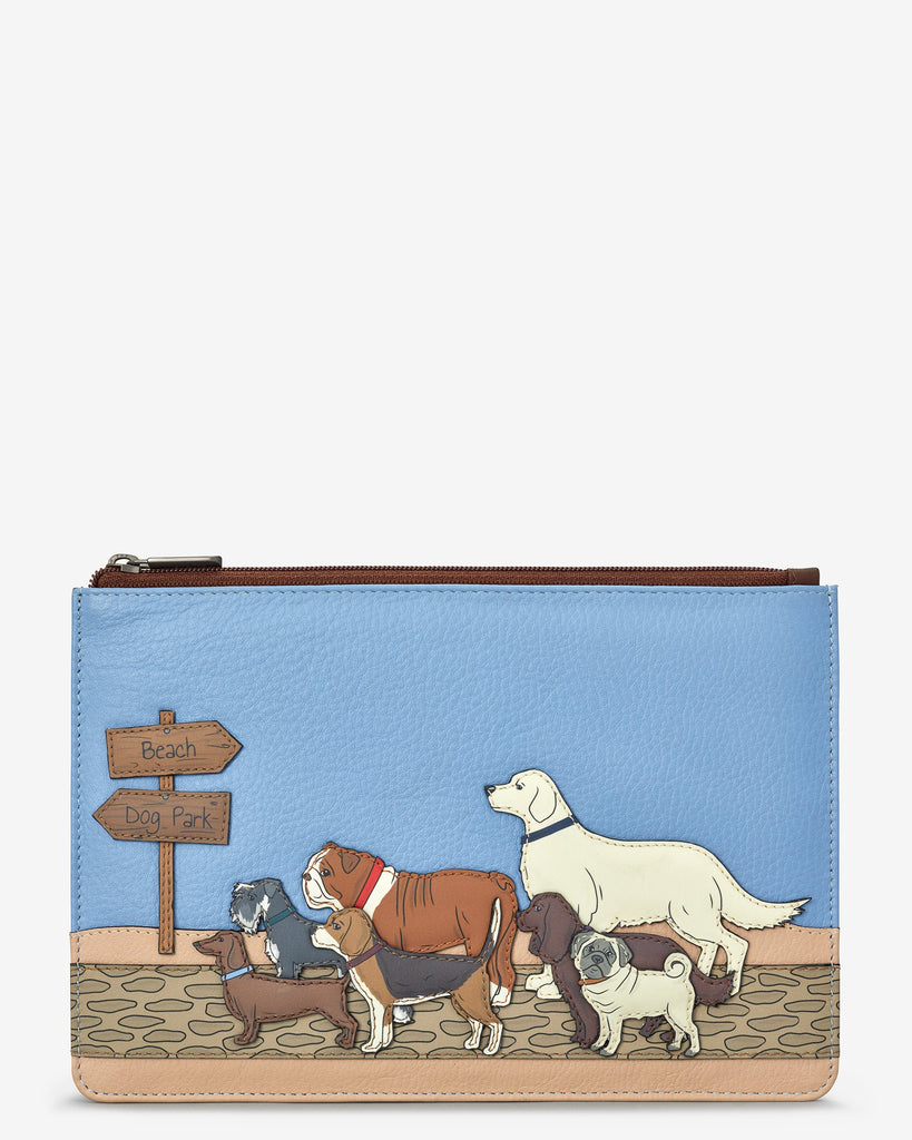 Dog Walk Zip Top Pouch