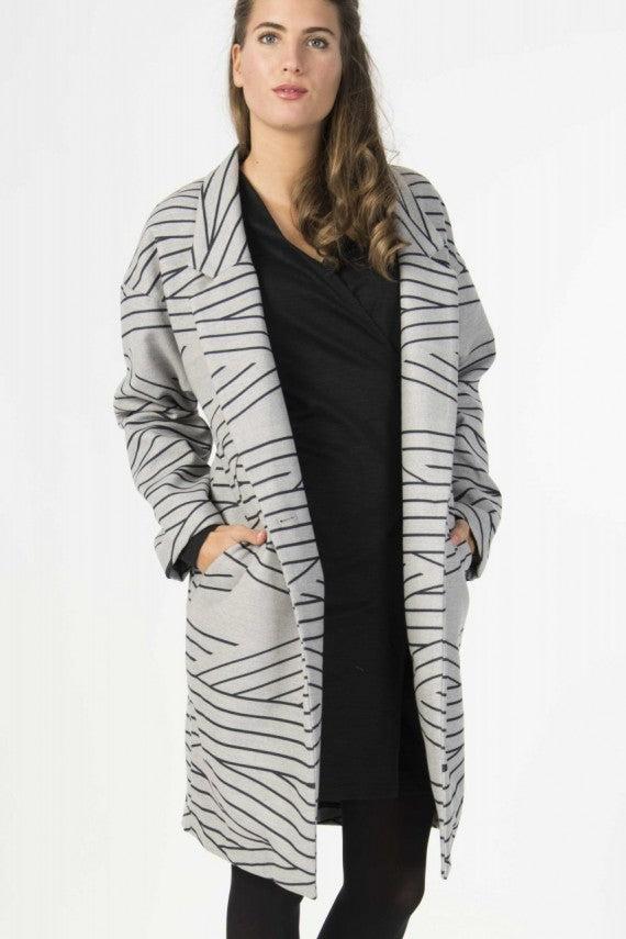 BAREZI JACKET BLACK/GREY