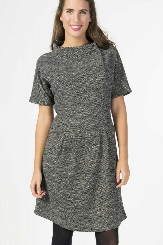 HIAZINTA DRESS GREY