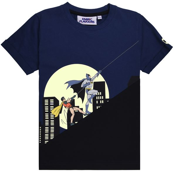 BATMAN AND ROBIN T SHIRT