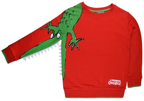 The Enormous Crocodile Sweatshirt