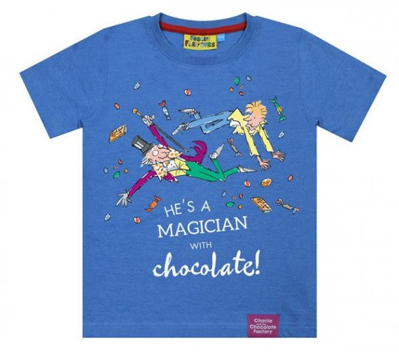 KIDS CHARLIE MAGICIAN WITH CHOCOLATE TEE