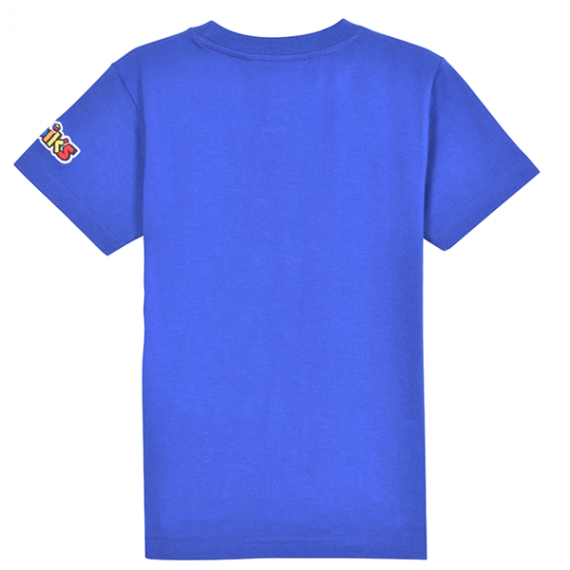 RUBIKS POCKET T-SHIRT BLUE