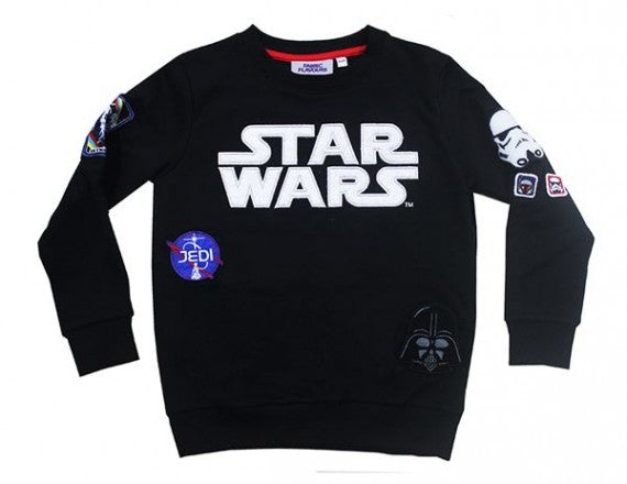 STAR WARS INTERCHANGABLE BADGE SWEATSHIRT BLACK
