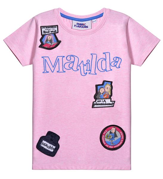 MATILDA BADGE PINK