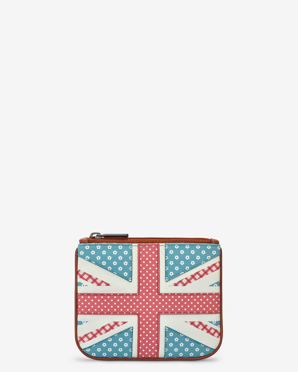 Union Jack Zip Top Purse