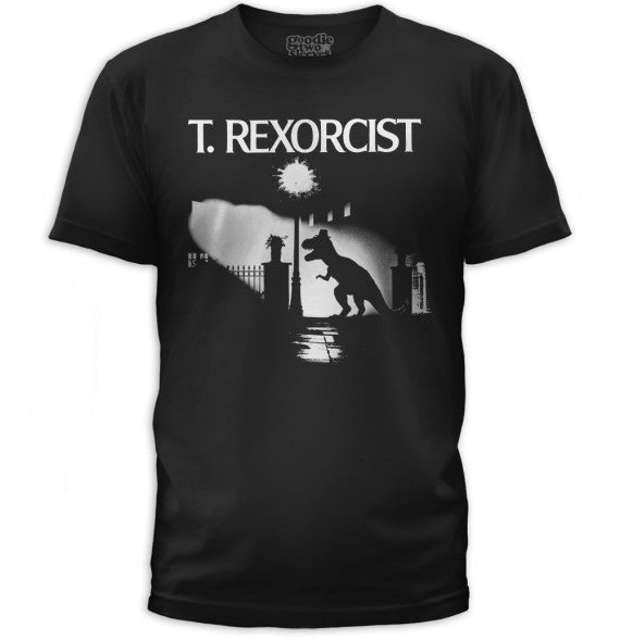 MENS T-REXORCIST TEE BLACK