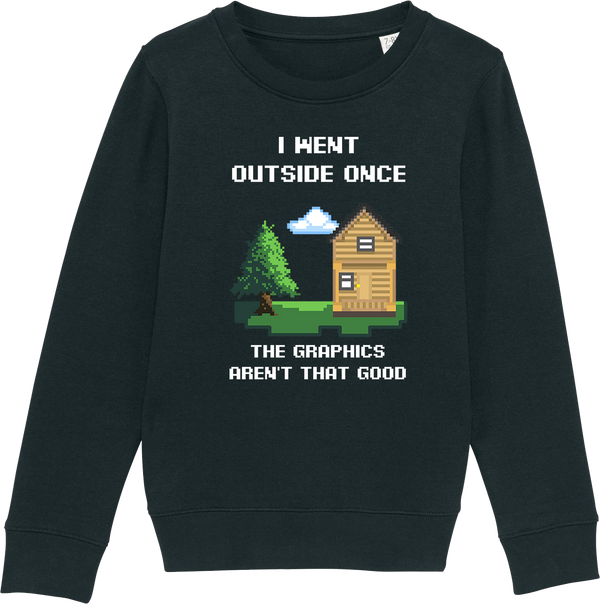 Youth Outside Once Organic Sweatshirt