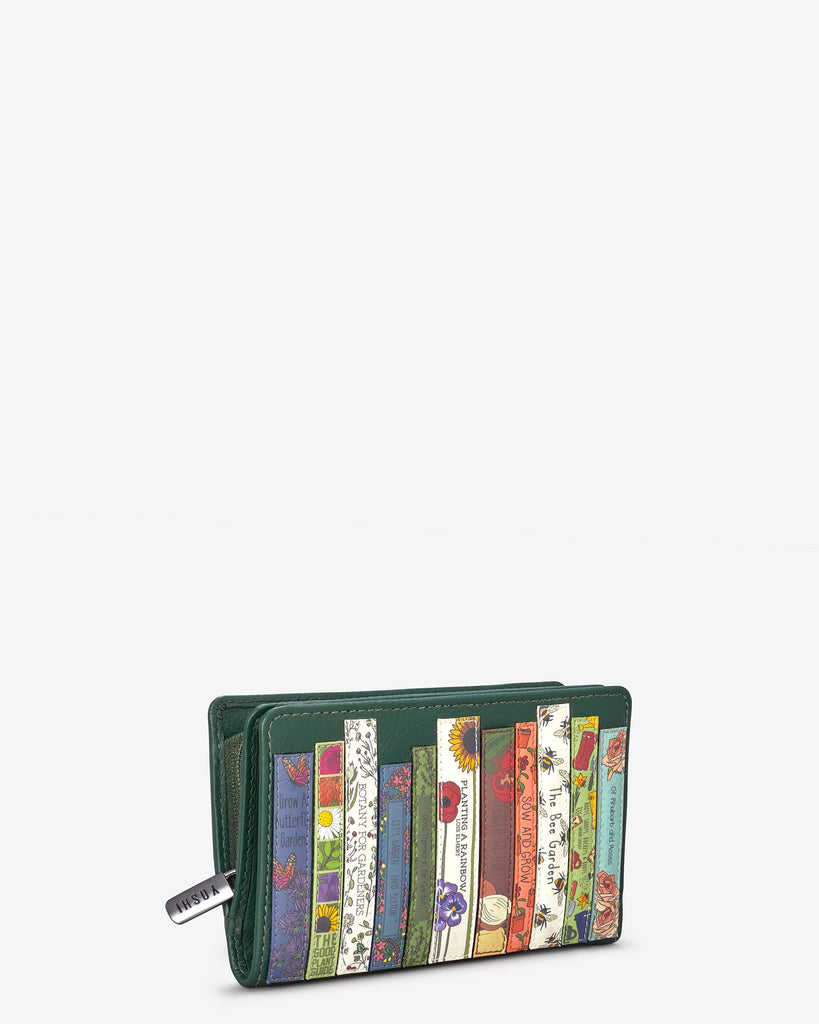 Green Fingers Bookworm Zip Around Purse