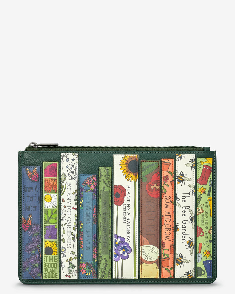 Green Fingers Bookworm Zip Top Pouch