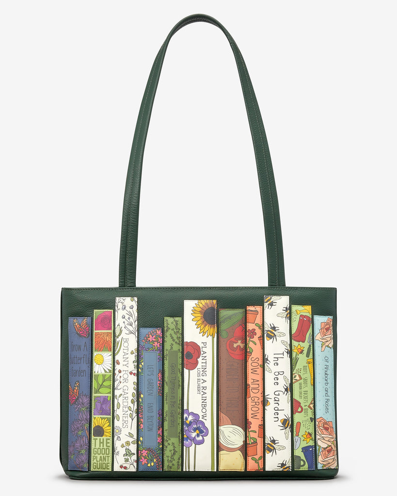 Green Fingers Bookworm Shoulder Bag