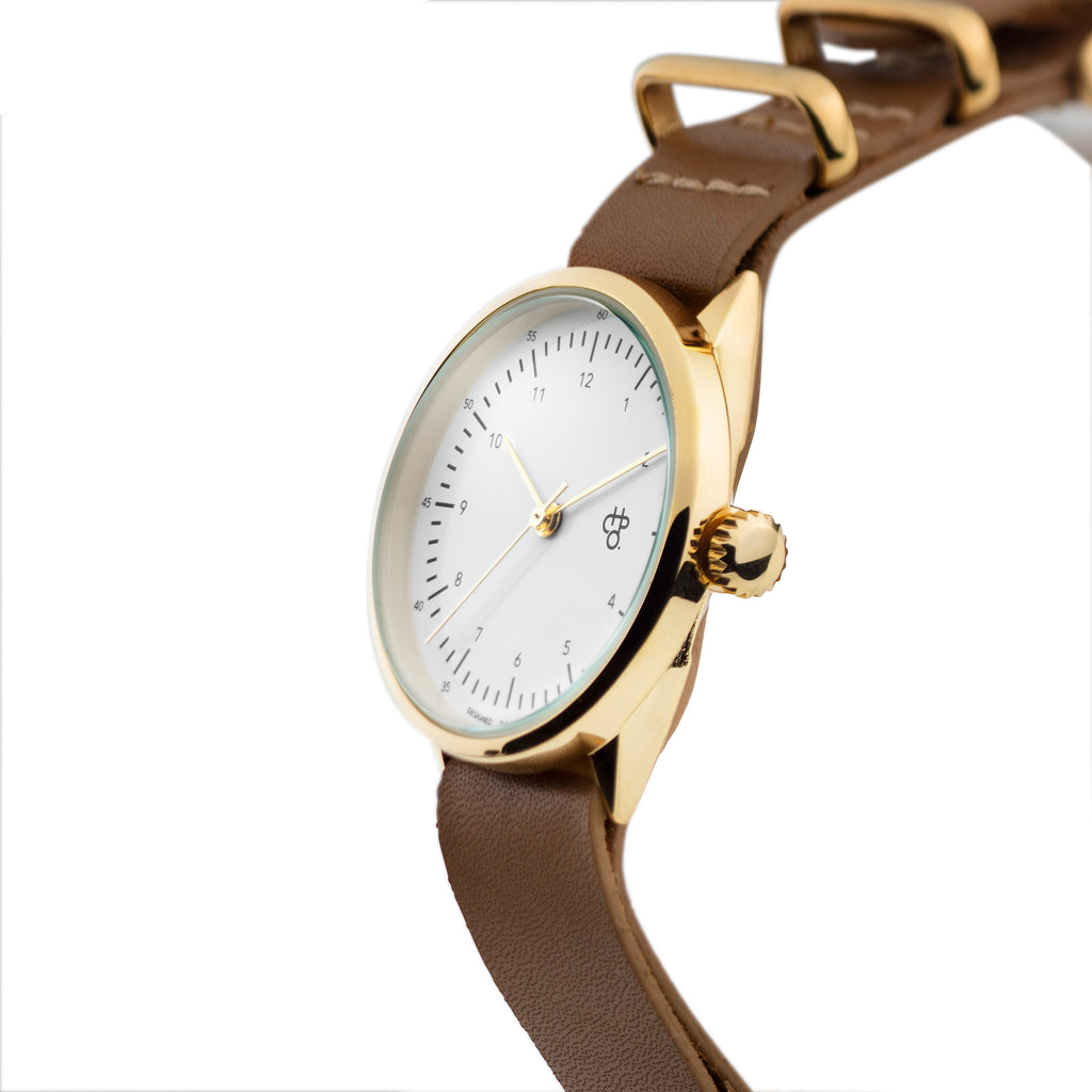 HAROLD MINI WATCH brown strap
