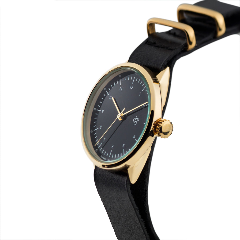HAROLD MINI WATCH black strap