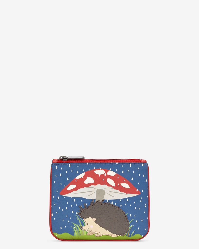 Hedgehog Zip top Purse