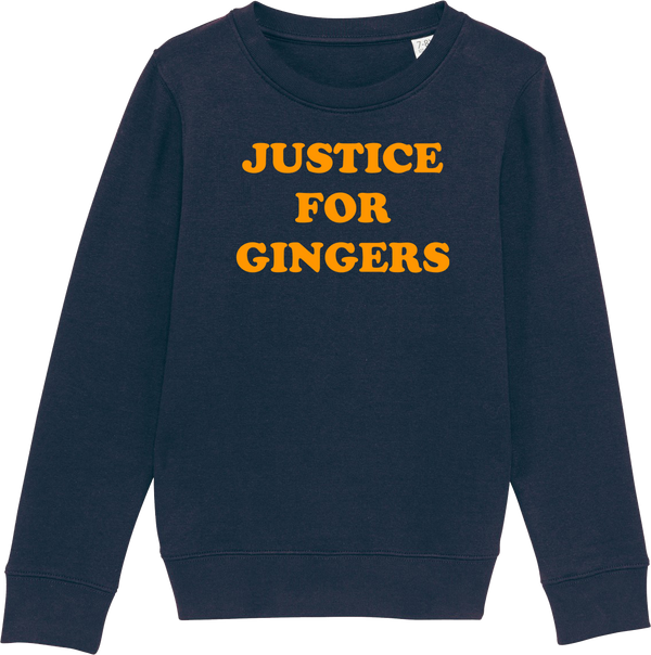 Youth Justice For Gingers Organic Sweatshirt