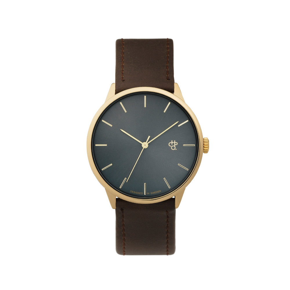 KHORSHID WATCH Brown Vegan Strap