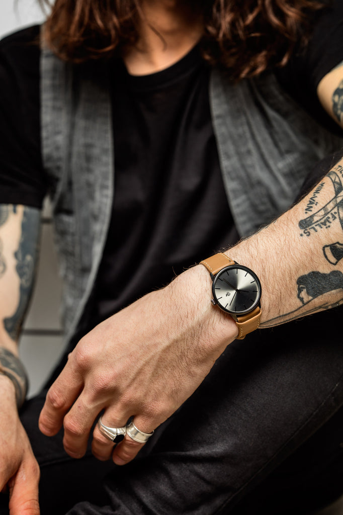 FUNK METAL KHORSHID WATCH Vegan Strap