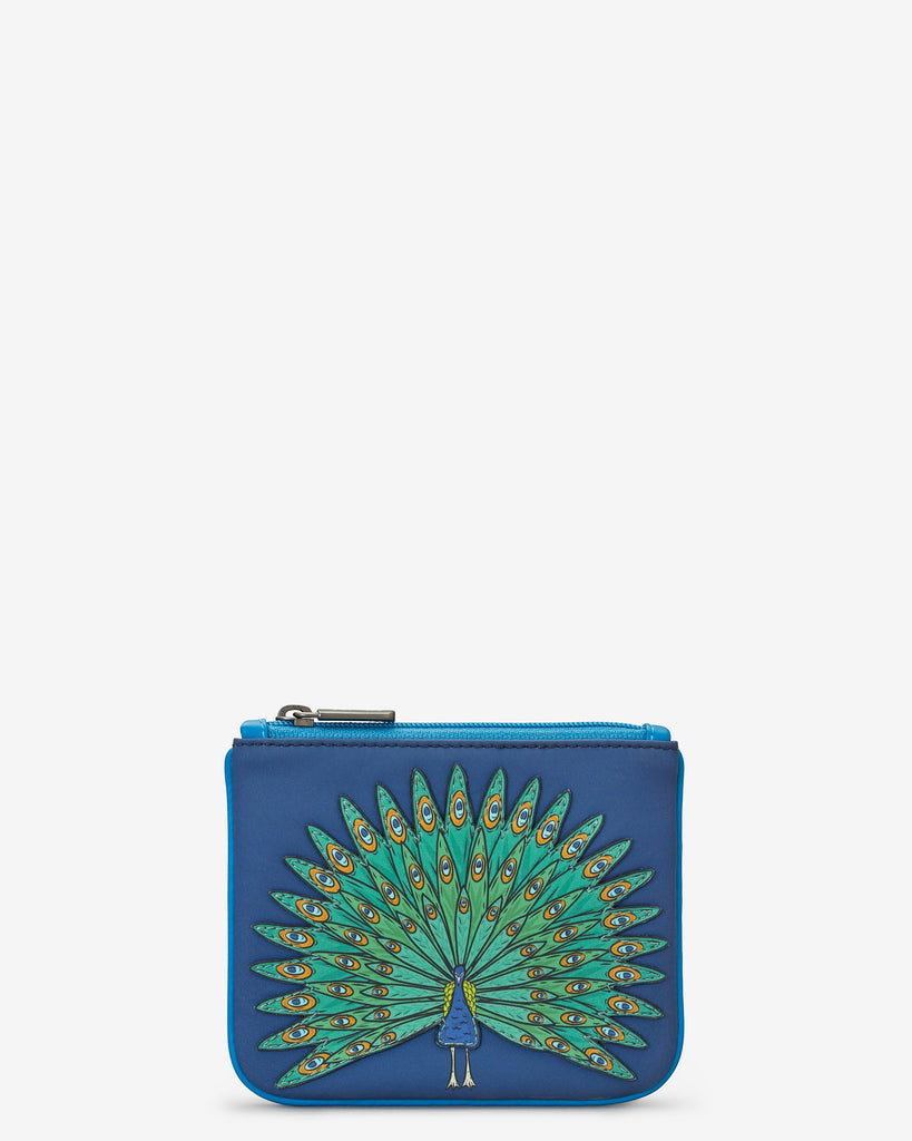 Peacock Zip Top Purse