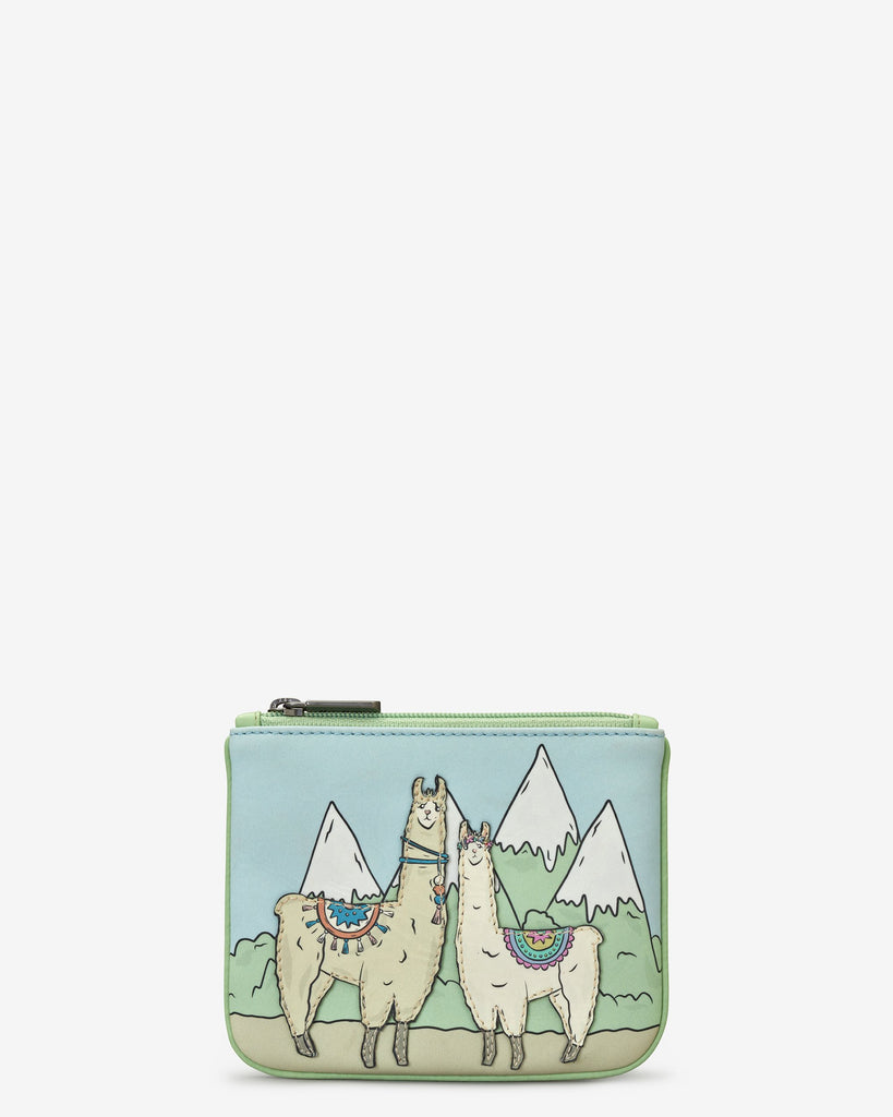 Llamas Zip Top Purse