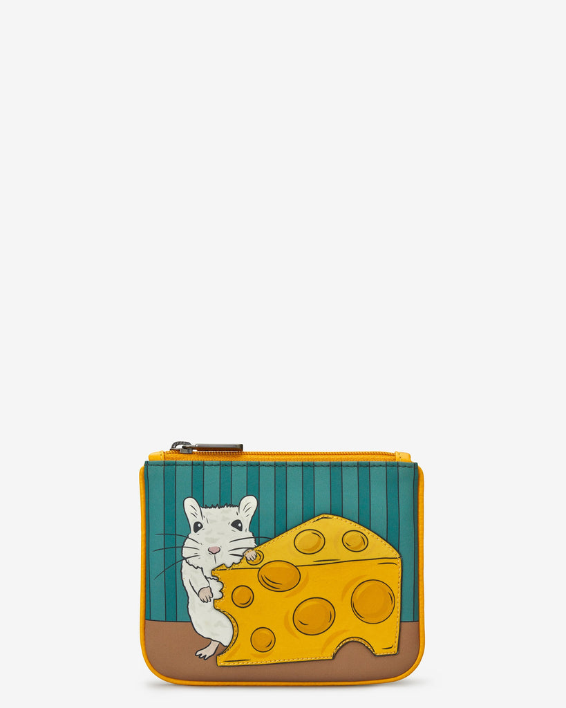 Mouse and Cheese Zip Top Purse