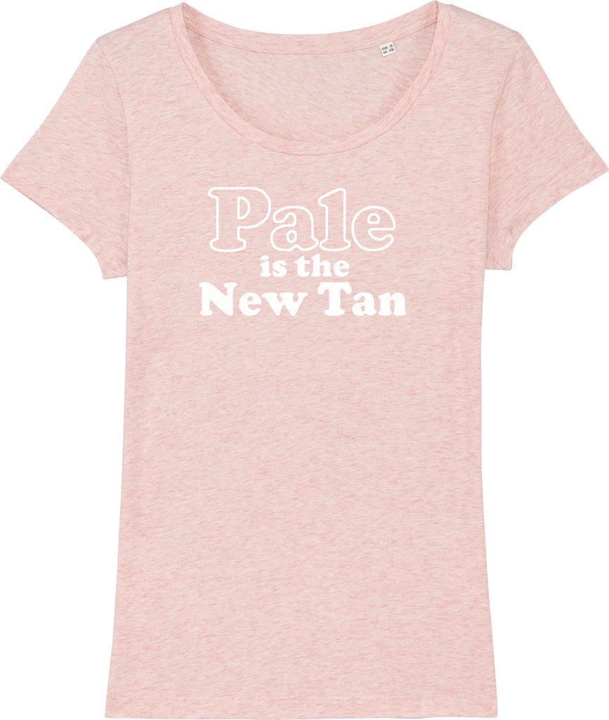 Pale is the New Tan Organic T-shirt
