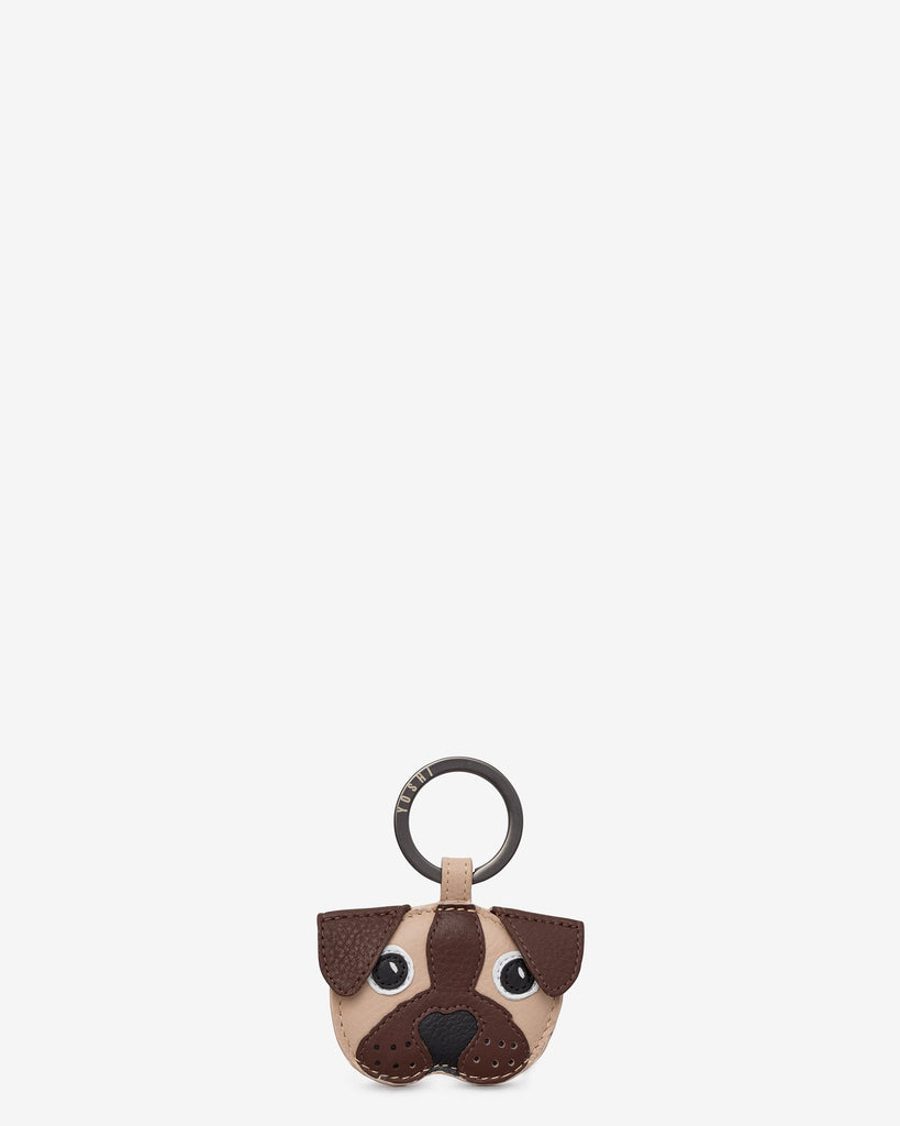 Percy the Pug Keyring
