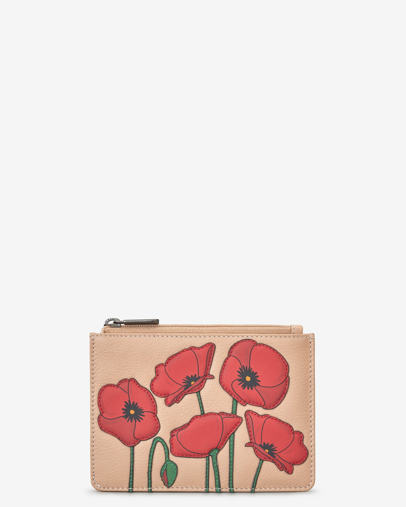 Poppy Zip Top Purse