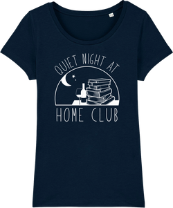 Quiet Night at Home Club Organic T-shirt
