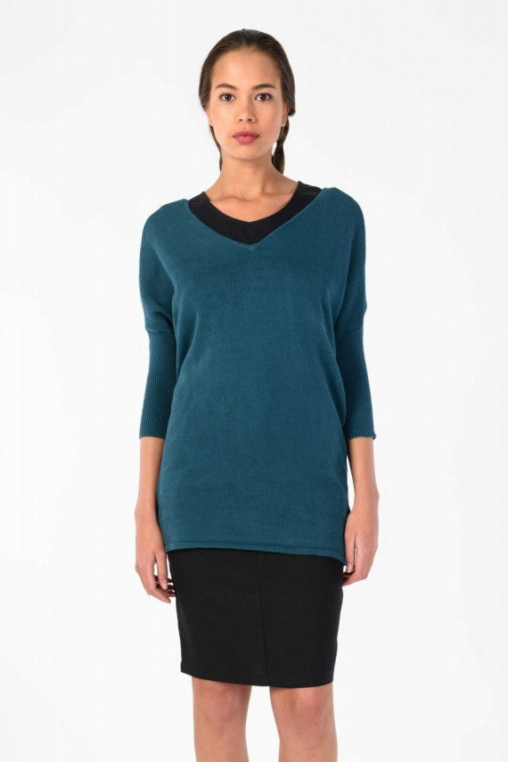 GAUBEA SWEATER DEEP GREEN