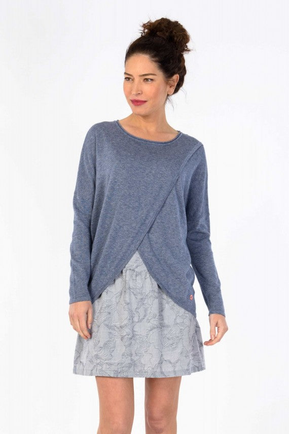 GAZETA SWEATER DARK BLUE
