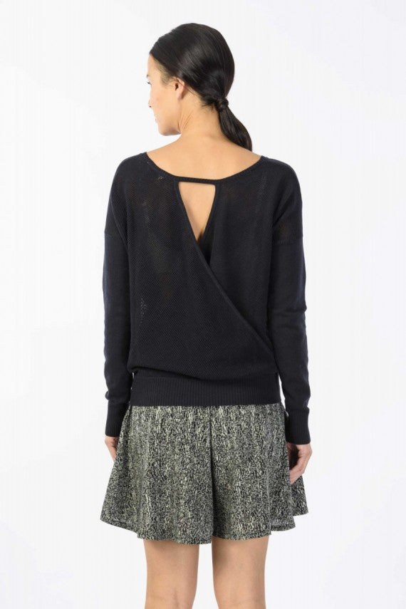 ITZIAR SWEATER BLACK
