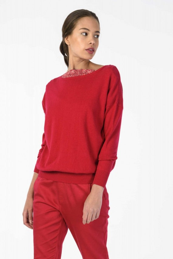 ITZIAR SWEATER RED