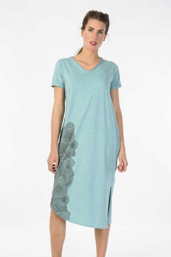 MAITE DRESS TURQUOISE