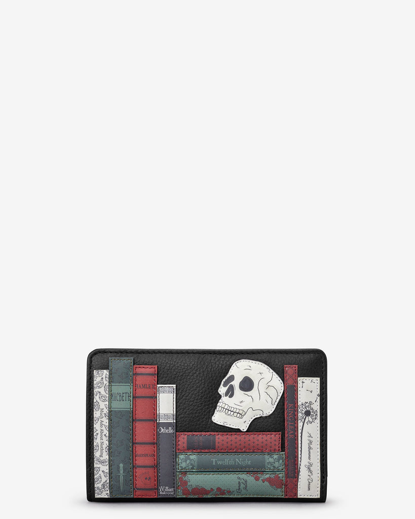 Shakespeare Bookworm Zip Around Purse
