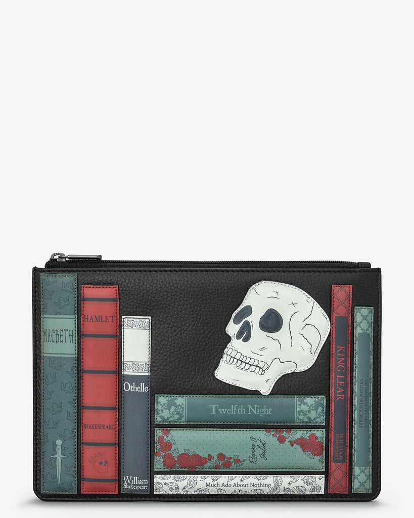 Shakespeare Bookworm Zip Top Pouch