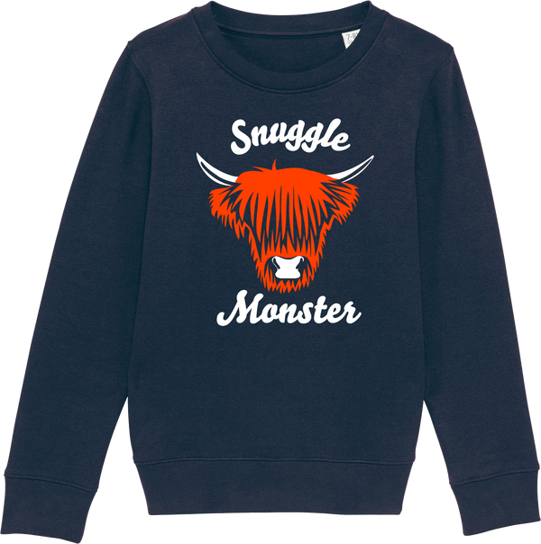 Youth Snuggle Monster Organic Sweat