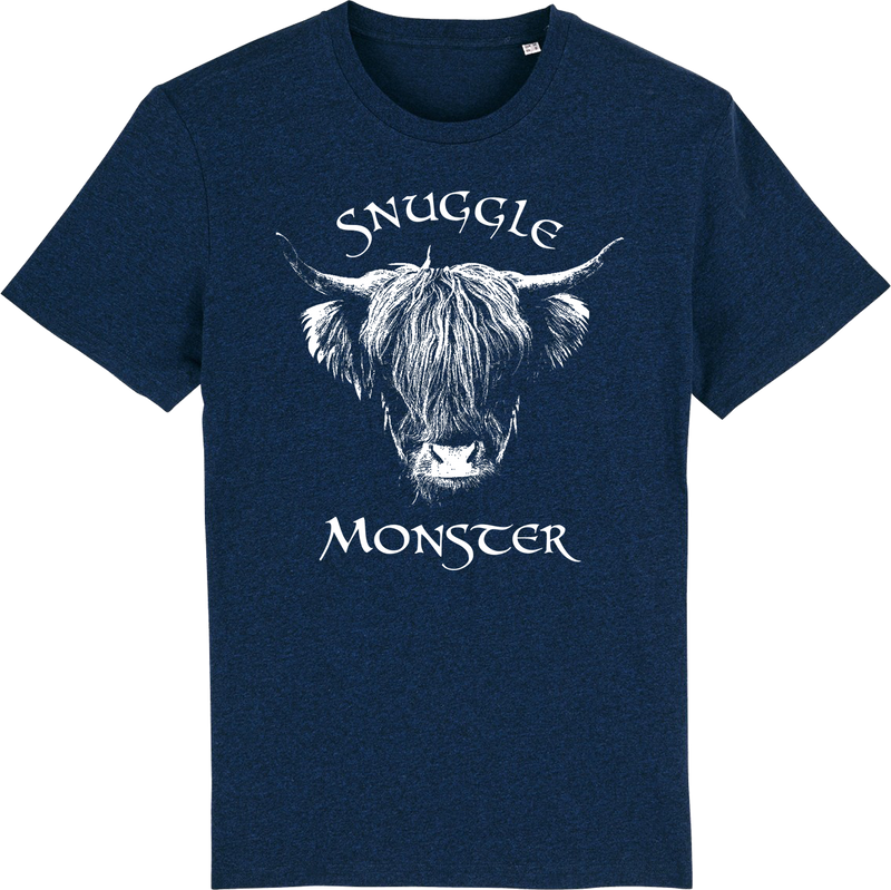 Mens Snuggle Monster Organic T-Shirt - ONLINE EXCLUSIVE