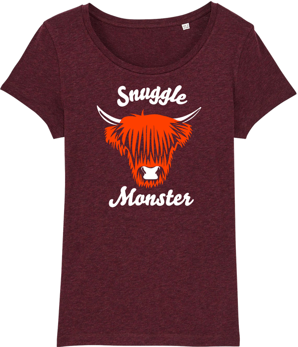 Womens Snuggle Flock Organic T-Shirt