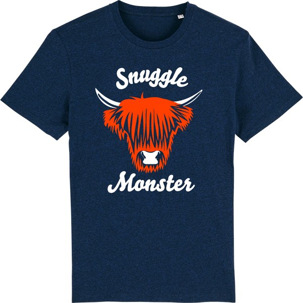 Mens Snuggle Flock Monster Organic T-Shirt