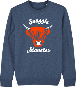 Unisex Snuggle Monster Organic Sweat