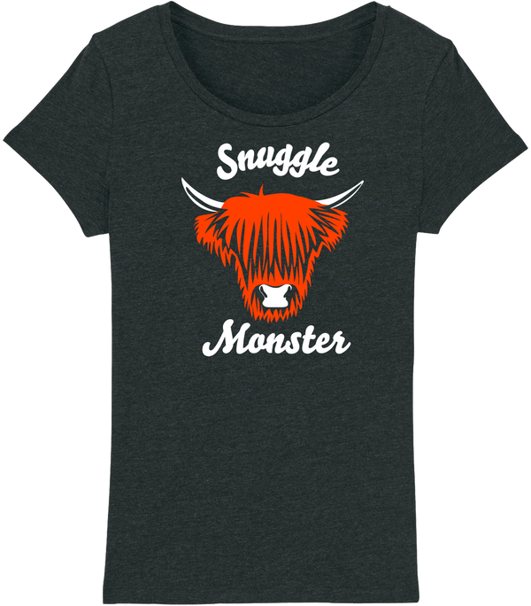 Womens Snuggle Monster T-Shirt