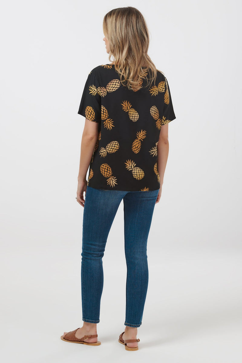 Tilda Pineapple Batik Top