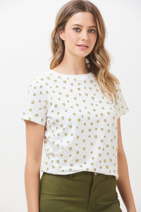 Maggie Little Star Print T-Shirt