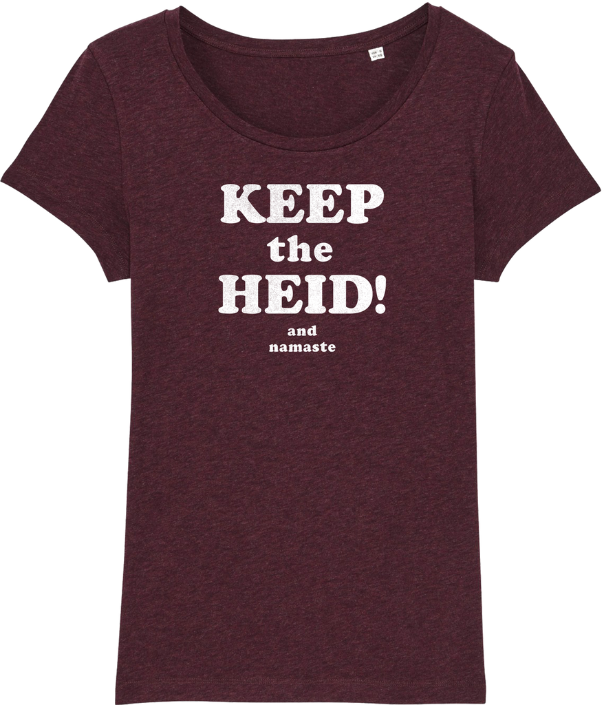 Keep The Heid and Namaste Organic T-shirt