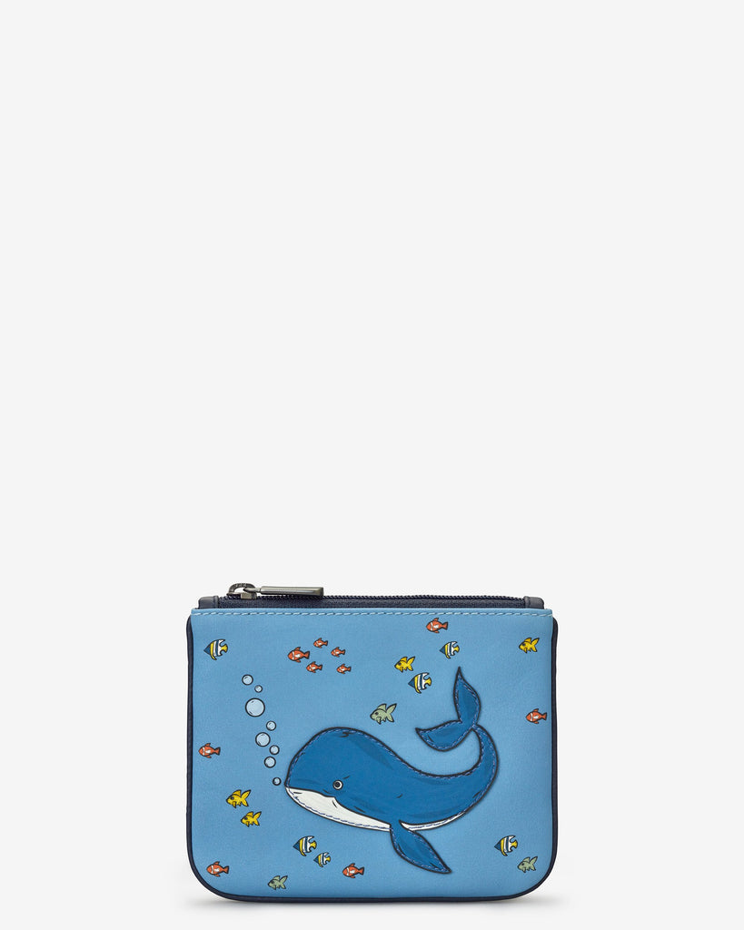 Under the Sea Whale Zip Top Purse