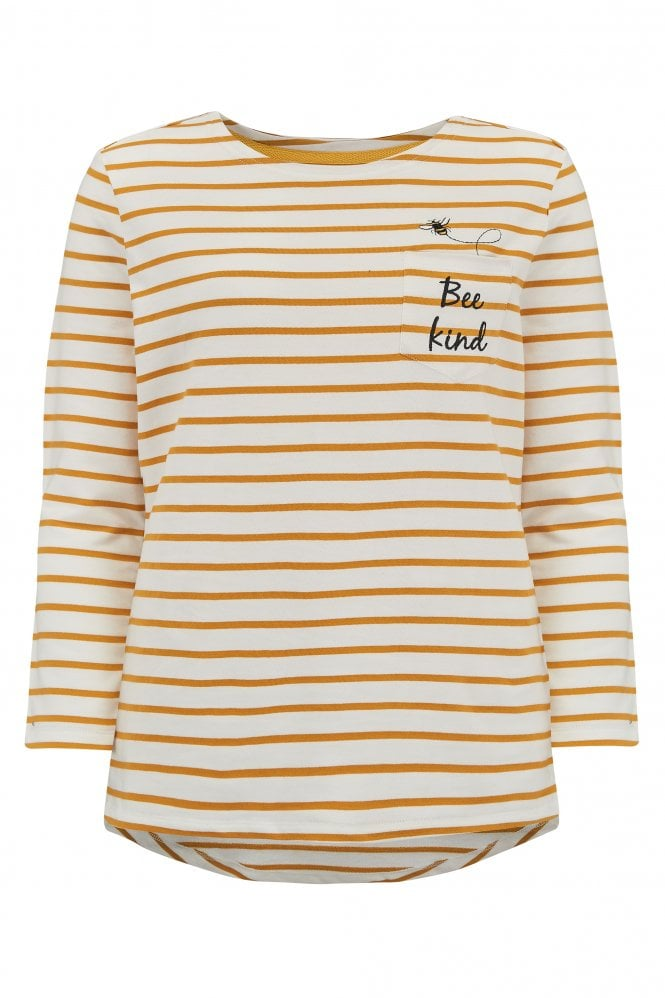 Brighton Bee Kind Breton Top