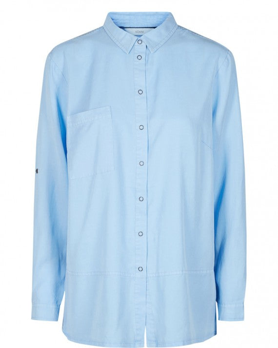 EYFINNA SHIRT BLUE