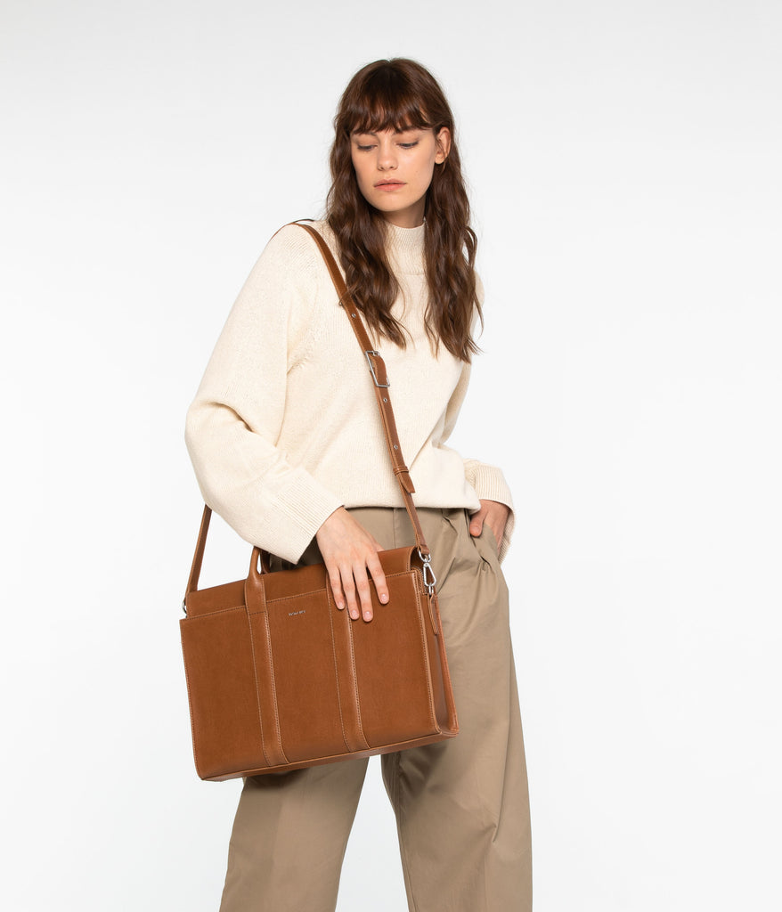 Parallel Vintage Satchel